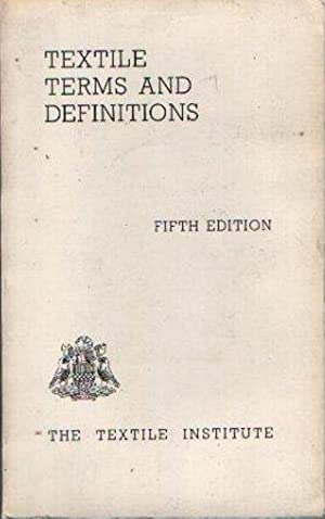 Textile terms and definitions