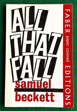All That Fall: Beckett, Samuel: