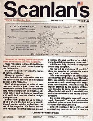 Scanlan's Monthly (1 Thru 8): Warren Hinkle Sidney