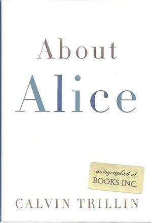 About Alice: Trillin, Calvin
