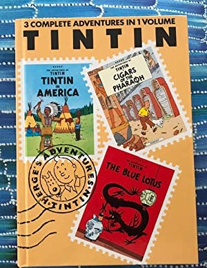 Tintin in America, Cigars of the Pharaoh, The Blue Lotus