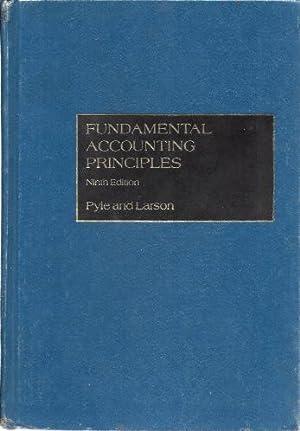 Fundamental Accounting Principles: Pyle, William W.