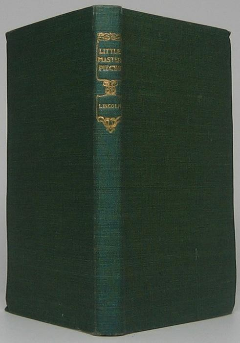 Little Masterpieces: Abraham Lincoln LINCOLN, Abraham Hardcover
