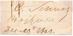 Signature with Rank / Unsigned Portrait.: SCHURZ, Carl (1829-1906).