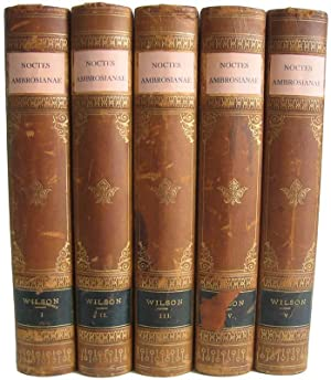 Noctes Ambrosianae.: WILSON, John, MAGINN, William, LOCKHART, J.G., and HOGG, James.