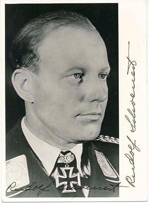 Photograph Signed: SCHOENERT, Rudolf (1911-88)