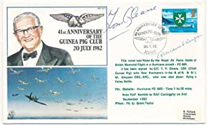 Signed Commemorative Envelope: GLEAVE, Tom (1908-93) and SIMPSON, William (1914-2005)