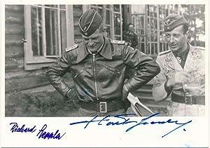 Photograph Signed: GRASSER, Hartmann (1914-86) and LEPPLA, Richard (1914-88)