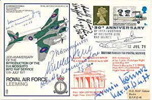 Signed Commemorative Envelope: DAHL, Walther (1916-85), GLUNZ, Adolf (1916-2002), GRAF, Hermann (...