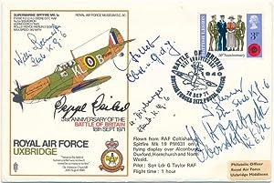 Signed Commemorative Envelope.: DIPBERGER, Wilhelm (1918-2005), GLASNER, Gunter (born 1917), GOLLOB...