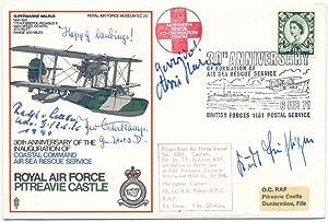 Signed Commemorative Envelope.: BUHLIGEN, Kurt (1917-85), HAHN, Hans (1914-82), OSTERKAMP, Theo (...