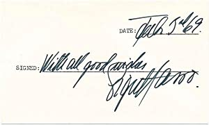 Signatures and Inscriptions / Unsigned Photograph.: RAFT, George (1895-1980), and HASSO, Signe...