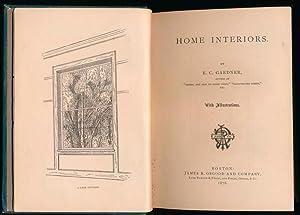 Home Interiors.: GARDNER, E.C.