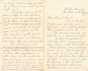 Autograph Letter (unsigned).: PAINE, William Henry (1827-90).