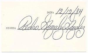 Signature.: GONZALEZ, GONZALEZ, Pedro (1925-2006).
