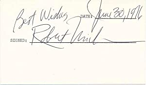 Signature and Inscription / Unsigned Photograph.: URICH, Robert (1946-2002).