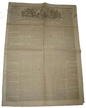 The Liberator: January 22, 1858 (Vol. XXVIII, No. 4).: GARRISON, William Lloyd (editor).