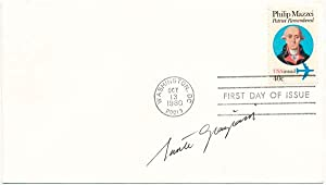 Signed First Day Cover.: GRAZIANI, Sante (1920-2005).