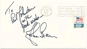 Signed Commemorative Cover.: GREEN, Johnny (1908-89).