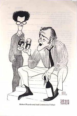 Signed Book Illustration.: HIRSCHFELD, Al (1903-2003).