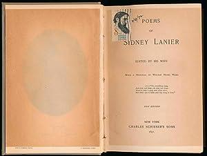 Poems of Sidney Lanier.: LANIER, Sidney.