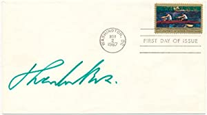 Signed First Day Cover: BOX, Theodor M. (1906-?)