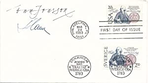 Signed First Day Cover: SLANIA, Czeslaw (1921-2005)