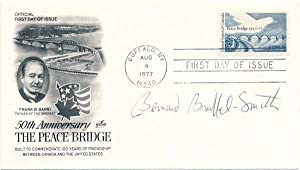 Signed First Day Cover.: BRUSSEL-SMITH, Bernard (1914-89).
