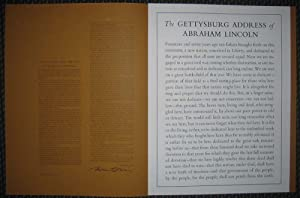 Lincoln Speaks at Gettysburg: November 19, 1863