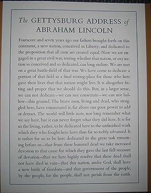 Lincoln Speaks at Gettysburg: November 19, 1863.: LINCOLN, Abraham.
