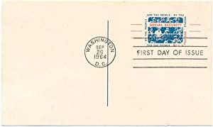Signed First Day Cover: FULLER, Ida May (1874-1975)