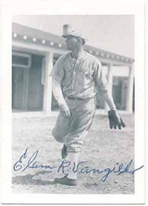 Photograph Signed.: VANGILDER, Elam R. (1896-1977).