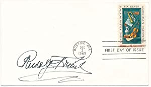 Signed First Day Cover.: FRIML, Rudolf (1879-1972).