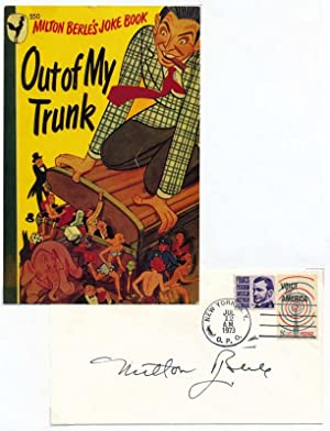 Signed Postal Cover: BERLE, Milton (1909-2002)