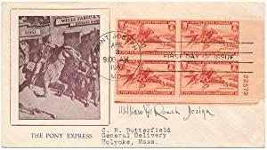Signed First Day Cover / Unsigned Photograph: ROACH, William A. (1888-1969)