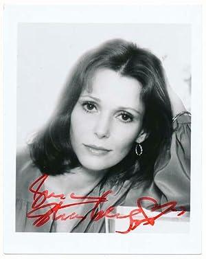 Photograph Signed: STRASBERG, Susan (1938-99)