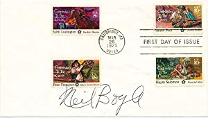 Signed First Day Cover: BOYLE, Neil (1931-2006)