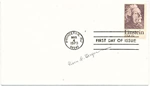Signed First Day Cover: BERGMANN, Peter G. (1915-2002)