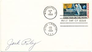 Signed First Day Cover: RILEY, John E.
