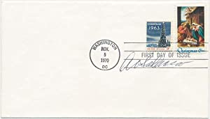 Signed First Day Cover.: SADACCA, Albert V. (1902-?).