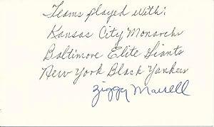 Signature: MARCELL, Everett
