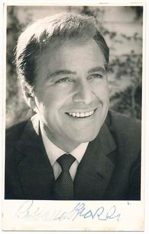 Photograph Signed: BRAZZI, Rossano (1916-95)