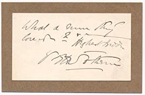 Autograph Quotation Signed: SOTHERN, Edward Hugh (1859-1933)