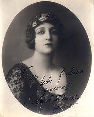 Inscribed Photograph Signed: MUZIO, Claudia (1889-1936)