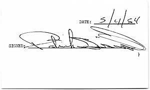 Signature: BISSELL, Patrick (1957-87)