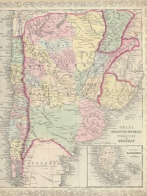 Chili, Argentine Republic, Paraguay and Uruguay.: CHILE, ARGENTINE REPUBLIC, PARAGUAY, URUGUAY -- ...