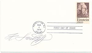 Signed First Day Cover: LANDSHOFF, Hermann (1905-86)