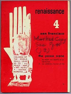 renaissance 4: san francisco, the peace scene.: BRYAN, John (editor).