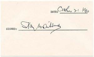 Signature: MATTHEWS, Stanley (1915-2000)