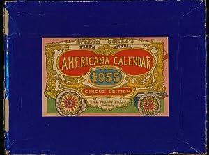Americana Calendar: Circus Wagon Edition: CURRO, Evelyn